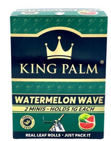 King Palm Mini WATERMELON Flavored Display - 20 Packs Per Box, 2 Wraps Per Pack