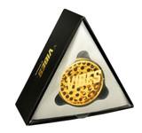 "Vibes X Aerospaced - Aluminum 2pc Grinder - 2.5"" (63mm) - Gold"