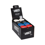 Vibes x Santa Cruz Shredder - Hemp Grinder POP - 16 Units Per POP asst'd colors- Red Blue, Black, & Natural