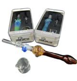 Alpaca Assorted Nectar Collector | Dab Jar, Klip, Quartz Collector and Decorative Stem