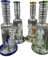 """10"""" Ripple Neck Water Pipe/Bong 