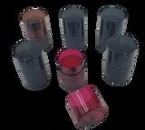 Tightpac - Tint TV0 Six Pack - 1x Red, 1x Blue, 1x Green, 1x Coffee, 2x Black Pearl