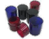 Tightpac - Tint TV1 Six Pack - 1x Red, 1x Blue, 1x Green, 1x Coffee, 2x Black Pearl
