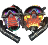 Full Face Skull Bong Masks | Assorted Colors and Styles