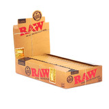 RAW Classic - 1 1/4 inch rolling papers 24 pack Retail Display
