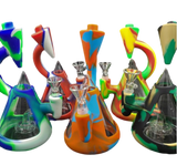 """7.5"""" Silicone Microscope Bong 