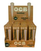 OCB Bamboo Cone 1 1/4 6 Pack