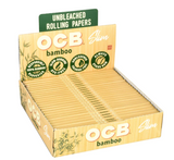 OCB Bamboo King Slim Rolling Papers - 24 ct