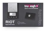 Truweigh Riot Scale - 100g x 0.01g Black/Gray