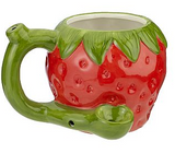 "18oz. Strawberry ""Wake and Bake"" Mug"