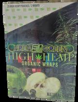 High Hemp Wraps Organic AREA 51 | 25 Pouches per Box | 2 Wraps per Pouch