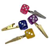 Rolling Dice Roach Clip | Assorted Color