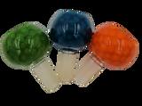 Glass on Glass | Fancy Honeycomb Flower Bowl | 14mm Male * ELITE SERIES