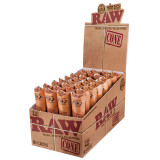 RAW Classic Pre-Rolled Cones 1 1/4 inch Size  32 pack of 6 Pre-Rolled Cones Retail Display