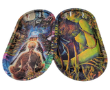 """7""""x4"""" Trippy Rolling Tray 