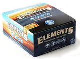 Elements King Size Rice Papers 50 pack Retail Display
