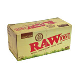 RAW Organic Hemp Pre Rolled Cones  1 1/4 inch Size  900 pack