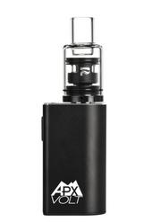 APX VOLT 3 Wax Vaporizer  Triple quartz coil-less cup, 1 Atomizer for low temp dabs   9 Assorted Colors including Blackout Metal
