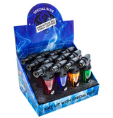Special Blue Mini Clear Torch Lighter | 20 pack