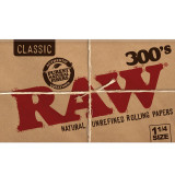 RAW Classic - 300's 1 1/4 inch Size 20 pack Retail Display