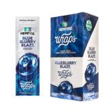 Hempire Wraps by SWISHER | HEMPIRE BLUEBLURRY BLAZE HEMP WRAPS | 15 Pouches | 4 Wraps per Pouch