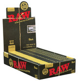 RAW Classic Black - 1 1/4 inch 24 pack Retail Display