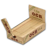 OCB Organic Hemp 1 1/4 inch Size 24 books per case Retail Display