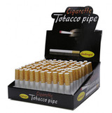 Cigarette Style 3 inch One Hitter 100 Pack Retail Display