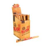 RAW Classic Pre Rolled Emperador 9 inch Cones 24 Pack