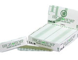 High Hemp King Size Rolling Papers 25 Books per Box 32 sheets per Book Retail Display