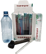 Top Puff Portable Water Pipes Assorted Colors