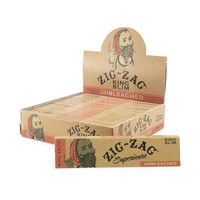 ZIG ZAG Unbleached King Size (24 Booklets)