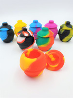 35ml Silicone Honey Pot Wax Container | Assorted Colors