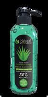 Natural Wunderz - Aloe Vera Hand Sanitizer [75% alcohol] (12.7oz)