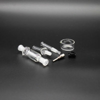Dab Straw Kit Nectar Collector Kit with 10mm Titanium Straw
