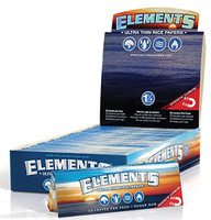 Elements Rice Papers 1 1/4 inch Size 25 pack Retail Display