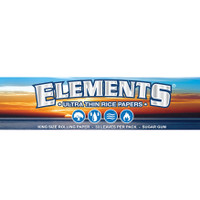 Elements King Size Rice Papers | 50 pk | Retail Display