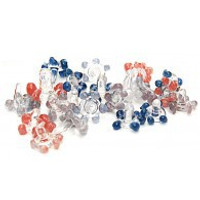 Daisy Style Glass Screens 200 pack Assorted Colors