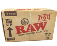 """RAW Classic - Pre Rolled Cones - 1 1/4""""  