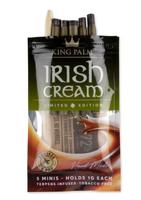 5pk - King Palm Cones - Mini Size - Irish Cream - 15ct