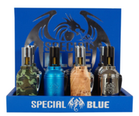 Special Blue GRENADE Torch Display | 12 Torches per Case