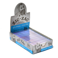 Zig Zag Ultra Thin 1 1/4 inch 24 pack Retail Display