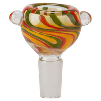 Glass-On-Glass Bowl | 14mm Colored