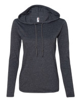 Custom Womens Lightweight Long Sleeve Hoodie | Anvil 60/40