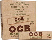 OCB SLIM KING SIZE ROLLING PAPERS | 24 pack