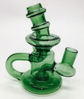 """5"""" Klein Recycler Dab Rig/Water Pipe with a FREE 14mm Male Quartz Banger"""