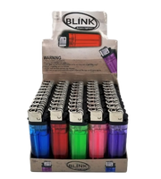 Blink 50 Pack of Assorted Colored Lighters | Retail Display