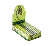 Zig Zag Organic Hemp 1 1/4 Rolling Papers | 24 Packs per Box
