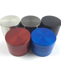 63mm Zinc 4pc Grinder   Assorted Colors