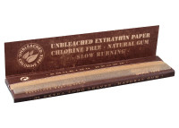 Smoking King Size Unbleached (108mm)   33 Leaves per book   50 Books per box